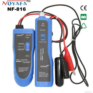 Nf816 Underground Cable Wire Locator Transmitter Tracker Lan Wire Fault Tester M
