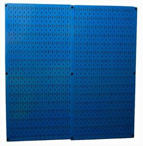 Wall Control 30 p 3232bu Blue Metal Pegboard Pack
