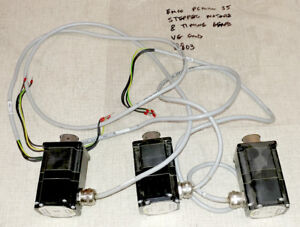 Emco Pcmill 55 Cnc Mill Stepper Motor Set Of 3 0803