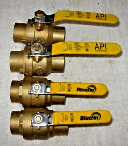 1 1 4 Brass Ball Valve Sweat Lead Free Nl 4 12 50 Ea Free Fast Priority Ship
