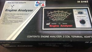 Vintage Sears 282163 Solid State Electronic Engine Analyzer Euc