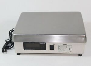 Mettler Toledo Model 8213 Shipping Parcel Scale 100 Lbs Capacity