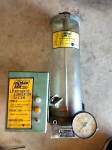 Lincoln Modular Lube 87214 Pneumatic Pump 87604 Control 87405 Lubrication System