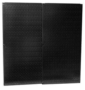 Wall Control 30 p 3232b Black Metal Pegboard Pack new