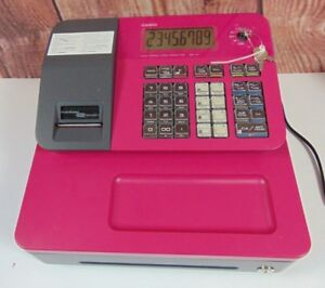 Casio Se g1sc Electronic Cash Register Pre owned Works W Manual And Keys