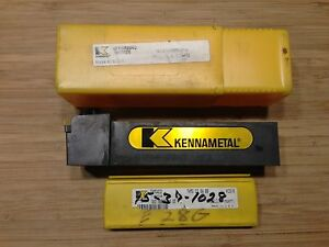 Kennametal Tool Holder Dtfnr 204d 1 1 4 Sq Shank 6 oal Rh 5 Inserts New