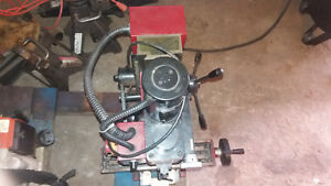 Harborfright Mini Mill All Metal Gears Set Up To Run 1 1500 Only