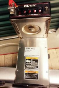 Commercial Bunn Restaurant Coffee Maker Brewer C Series Powers On 5 Warmers