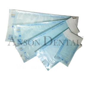 Anson Dental Self Seal Sterilization Pouch Bag Dual Indicator Tattoo Beauty