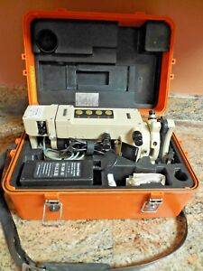 Quick Charge Pentax Pd20 Digital Theodolite 20 Second W Case And Quick Charger