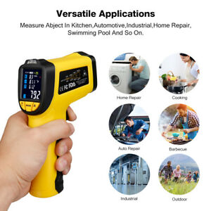 Urceri Digital Ir Temperature Gun Non Contact Laser Infrared Thermometer Ir 818