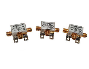 3 Pcs Mini circuits Zx10 2 332 s 1600 3300 Mhz 2 way Power Splitter Divider