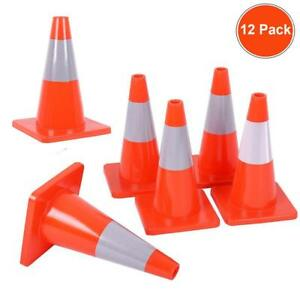 12 X 12 Traffic Cones Overlap Parking Construction Emergency Road Safety Cone X