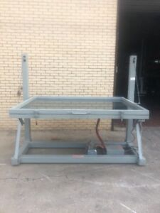 Douthitt Heavy Duty Screen Vacuum Frame Table 72 x52 With Pump warranty