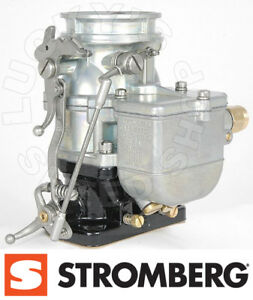 Genuine Stromberg 97 Carburetor Push Throttle Carb 9510a Lz