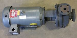 Gusher Pcl1x1 5 6seh cc a 7 5 Hp Centrifugal Coolant Pump With Baldor Motor