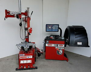 Remanufactured Coats 70x Ef 1 Tire Changer Coats 1250 Balancer W Warranty