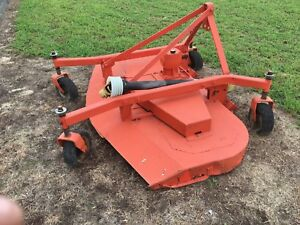 Heavy Duty Finish Mower With 6 Span