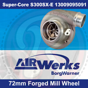 Borg Warner S300sx E Super Core Turbo 72mm Inducer Forged Mill Wheel Brand New