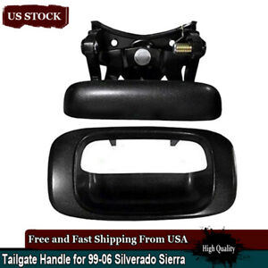99 07 Chevy Silverado Gmc Sierra Tail Gate Outside Tailgate Door Handle