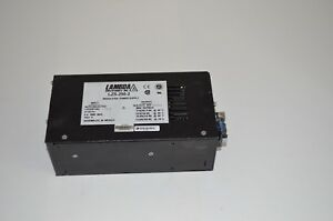 Lambda Lzs 250 2 10 15 75 Vdc Adjustable Regulated Power Supply 12 6a 21a