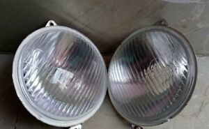 Head Light Pair Rh Lh Dip Massey Ferguson Tractor 135 240 245 165 265 Landini