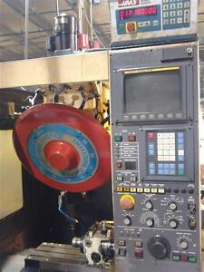 Used Miyano Tsv 33 Cnc Drill Tap Center Mill Milling Machine Fanuc Tapping 1994
