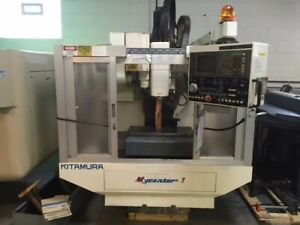 97 Kitamura Mycenter 1 Cnc Vertical Machining Center Mill Yasnac 13 000 Rpm Spn
