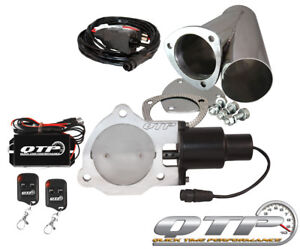 Qtp Qtec35cpk Quick Time Performance 3 5 Electric Exhaust Cutout Wireless New