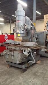 Kearney And Trecker 450tf 20 Manual Vertical Mill Milling Machine 42 x18 50hp
