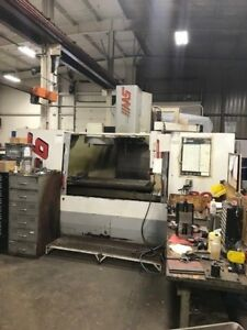 Used Vf 6 40 Taper Cnc Vertical Machining Center Mill 4th Ready Gear Box Chip 98