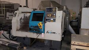 1996 Clausing Colchester Storm 100 A Cnc Turning Center Lathe Fanuc Ot Used Lns