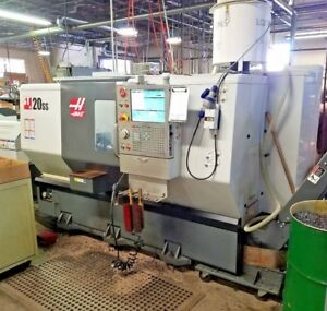 2013 Haas Lathe St 20ss Cnc Lathe W 24 Turret Low Hours Sl 20 Turning Center