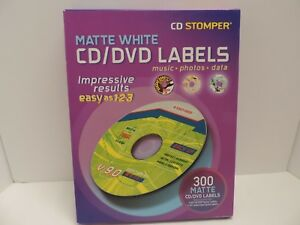 Avery 98122 Labels For Use With Cd Stomper Cd dvd Labeling System White Matte