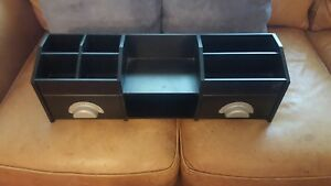 Wood Desk Organizer storage And A Great Look For Your Home Office Marked Down