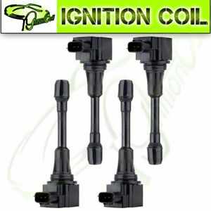 Set Of 4 Brand New Ignition Coil For Infiniti Fx50 M56 Q70 Nissan Altima Sentra