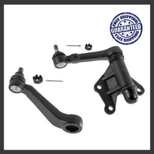 Replacement Front Steering Idler Arm Pitman Arm For 93 98 4wd Toyota T100