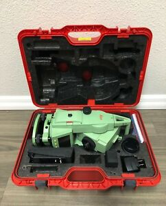 Leica Tcr 405power R100 Total Station For Surveying
