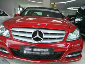 For 08 14 Mercedes Benz C class W204 Grille Grill Without The Badge