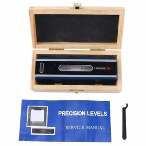 6 Master Precision Level For Machinist Tool W Cross Test Vials 0 0005 10