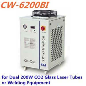 Cw 6200bi Industrial Water Chiller 5100w Cooling Capacity 100w Dc Pump 220v