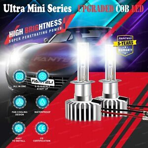 H1 Cree Csp Led Headlight Conversion Kit 1840w 276000lm Bulb High Low Beam 6000k