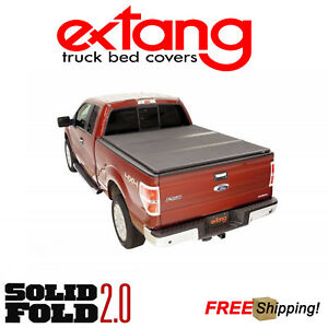 Extang Solid Fold 2 0 Hard Folding Tonneau Cover Fits 2017 2019 Titan 5 6 Bed