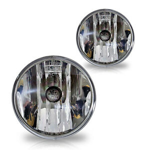 Fit 2015 2018 Chevy Colorado Replacement Fog Lights Pair Set W Bulbs Clear