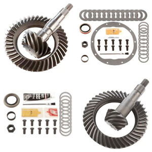 3 73 Ring And Pinion Gears Install Kit Package Gm 8 25 Ifs Front 8 5 Rear