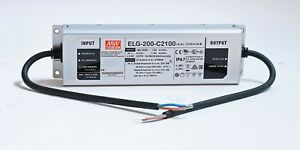 Meanwell Elg 200 c2100 2 1a Constant Current Led Driver