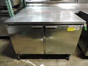 Beverage Air Wtr48a Commercial Worktop Refrigerator