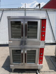 Vulcan Vc6ed 12 Electric Double Stack Full Size Convection Oven