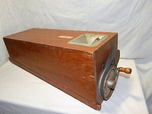 Rare Vintage W a Rice Seed Co Warsco Portable Dodder Sample Seed Mill