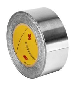 Tapecase Silver Aluminum Foil Tape With Conductive Acrylic Adhesive Converted